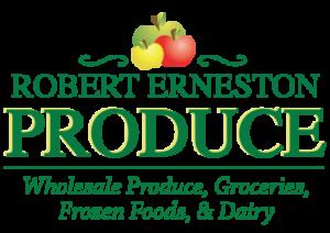 Robert erneston produce logo